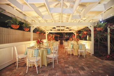 Event space at Celebration Gardens Orlando